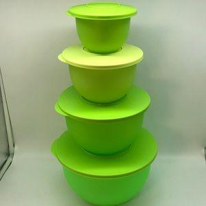 Tupperware Murano Bowl Set of 4